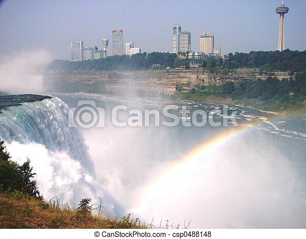 niagara vattenfallen - csp0488148