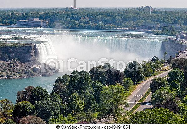 niagara vattenfallen - csp43494854