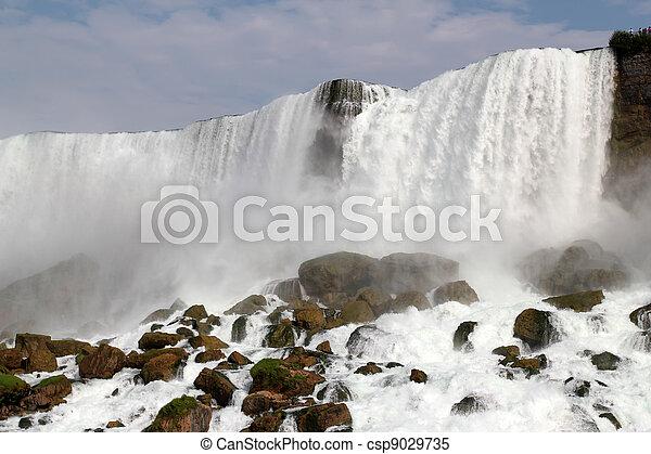 niagara vattenfallen - csp9029735