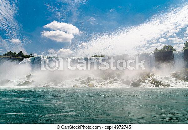 niagara vattenfallen - csp14972745