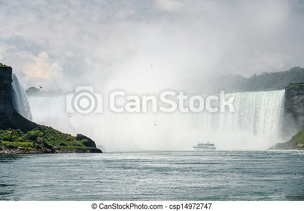 niagara vattenfallen - csp14972747