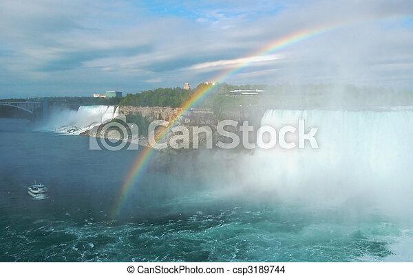 niagara vattenfallen - csp3189744