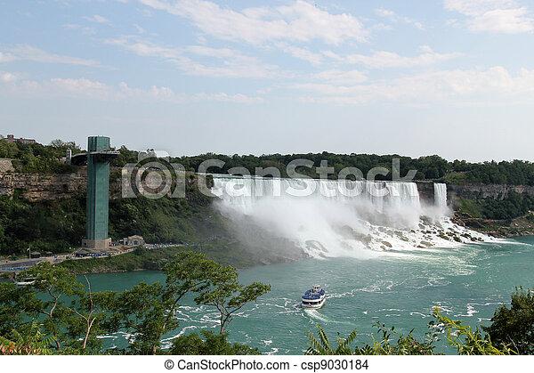 niagara vattenfallen - csp9030184