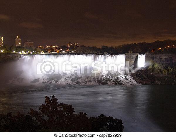 niagara vattenfallen - csp7822929