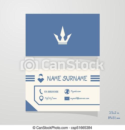 Creative design of nice business card nice business card csp51665384 colourmoves