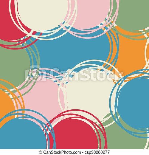 nice color art background - csp38280277