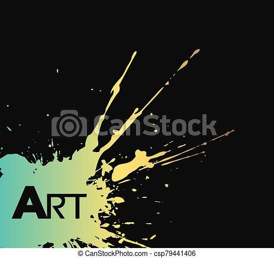 nice color art background - csp79441406