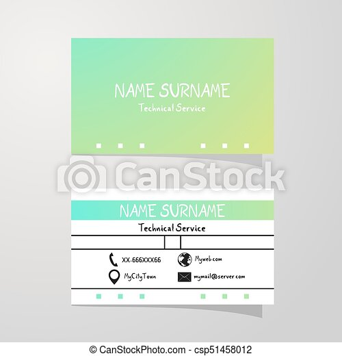nice color art business card background csp51458012 - Business Card Background