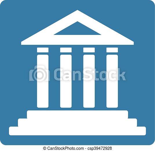 creative design of nice courthouse symbol rh canstockphoto com