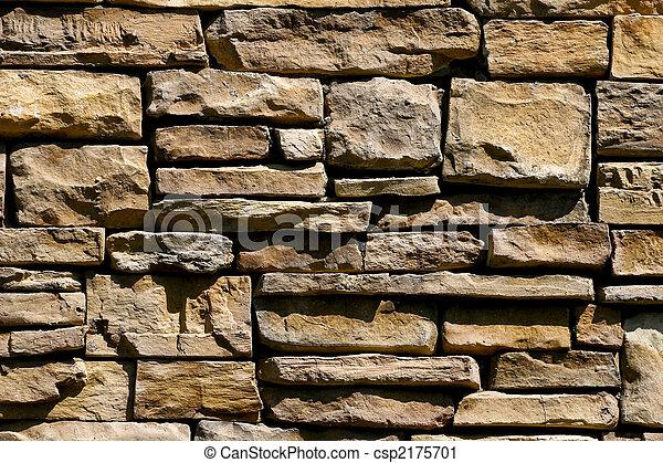 Nice Cut Stoen Wall - csp2175701