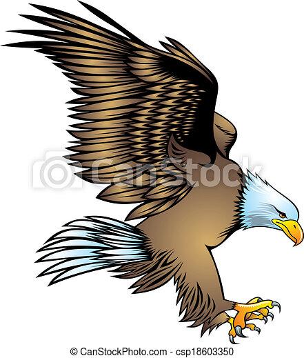 nice eagle - csp18603350