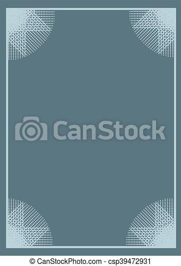 nice frame background - csp39472931