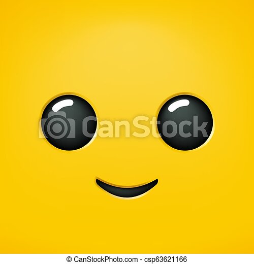 nice happy face draw - csp63621166