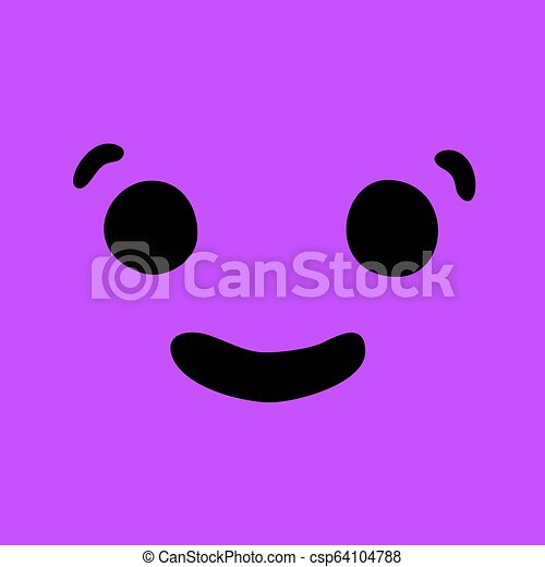 nice happy face - csp64104788
