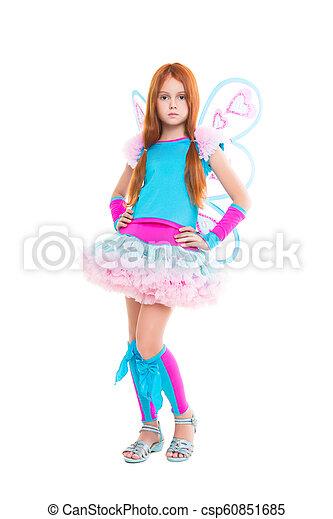 Nice little girl - csp60851685