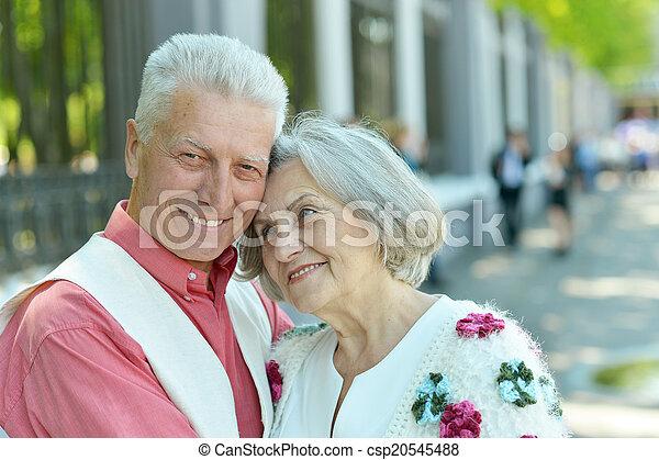 Nice mature couple