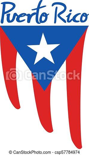 Nice Puerto Rico Flag