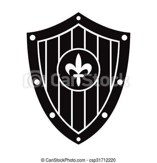 Nice shield simple sign - csp31712220