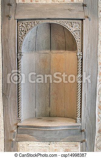 niche vieux mur bois d coup ext rieur niche vieux images rechercher photographies. Black Bedroom Furniture Sets. Home Design Ideas