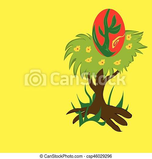 nido, albero - csp46029296