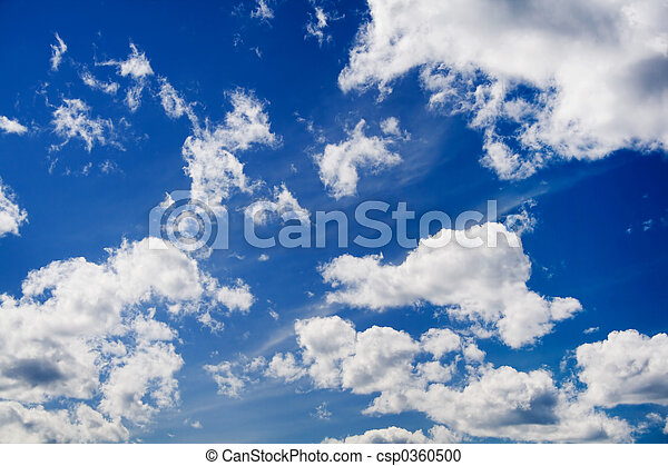 niebo, chmury - csp0360500