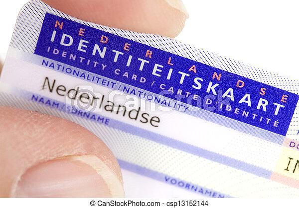Niederlande Ausweis