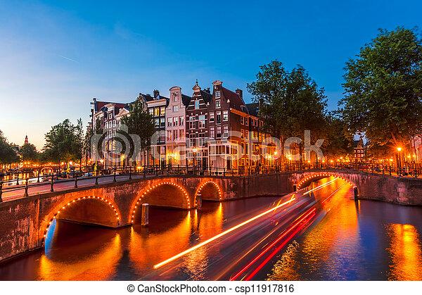 niederlande, amsterdam - csp11917816
