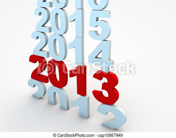 nieuw, eva, 2013, jaar - csp10867949