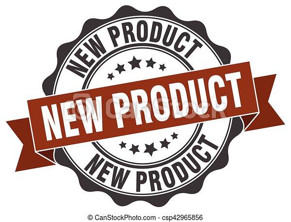 nieuw product, stamp., teken., zeehondje - csp42965856