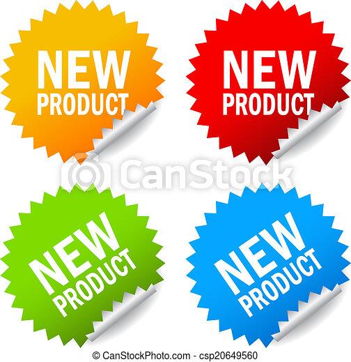 nieuw product, sticker - csp20649560
