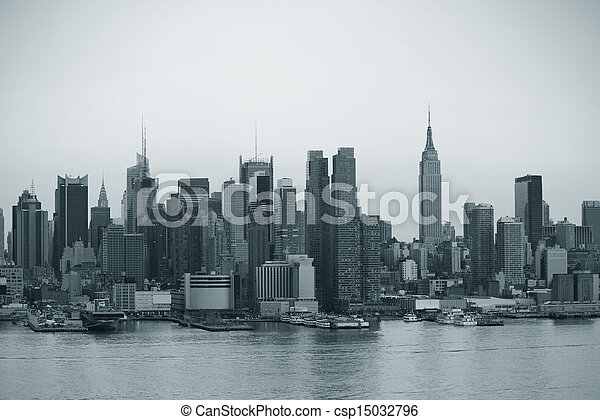 nieuw, stad, manhattan, york - csp15032796
