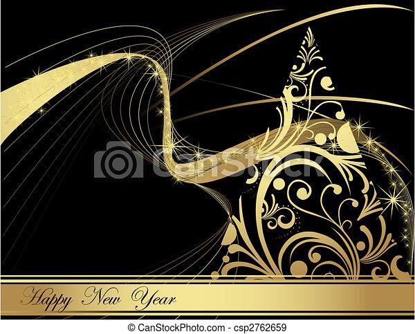 nieuw, vrolijke , jaar - csp2762659