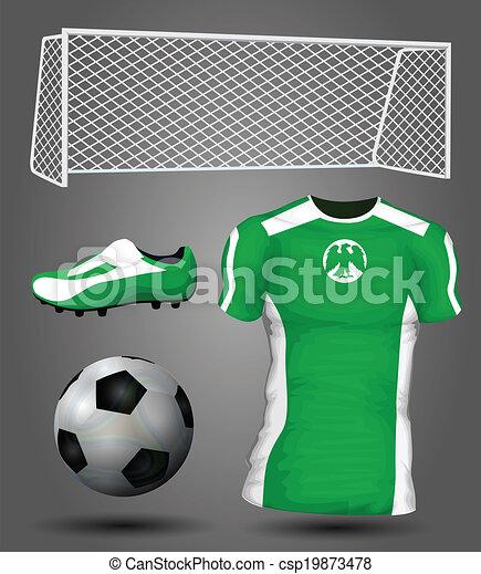 f5bc3f28b4d Nigeria soccer jersey - csp19873478