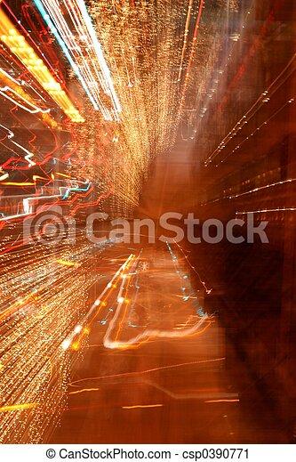 Night Blur - csp0390771