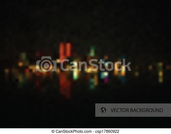 Night City Background - csp17860922