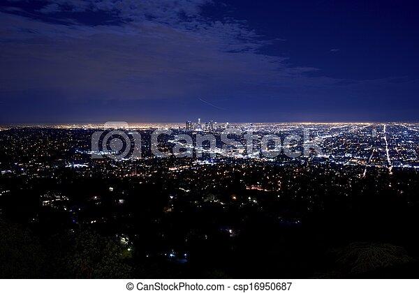 Night City Panorama - csp16950687