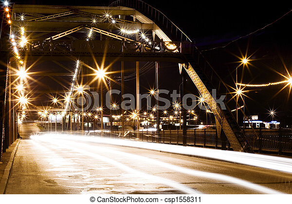 Night city scene - csp1558311