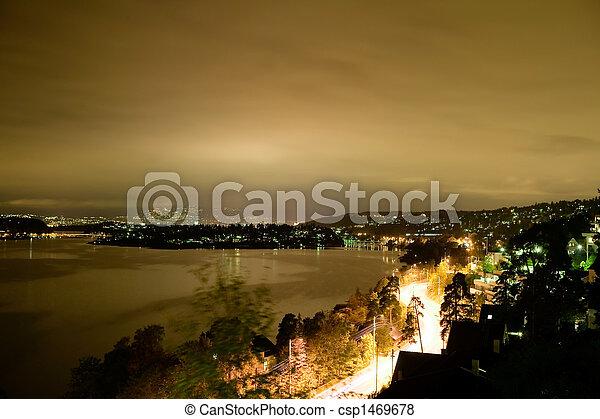 Night Cityscape - csp1469678