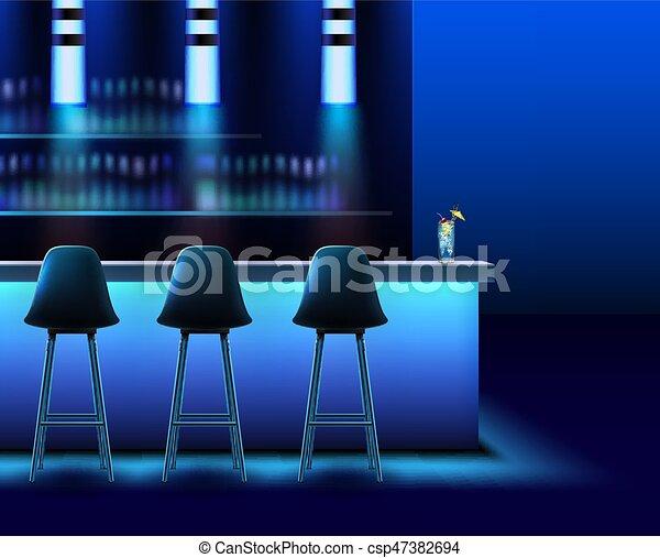 Night club interior - csp47382694
