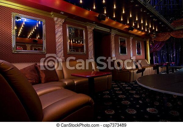 Night club interior - csp7373489
