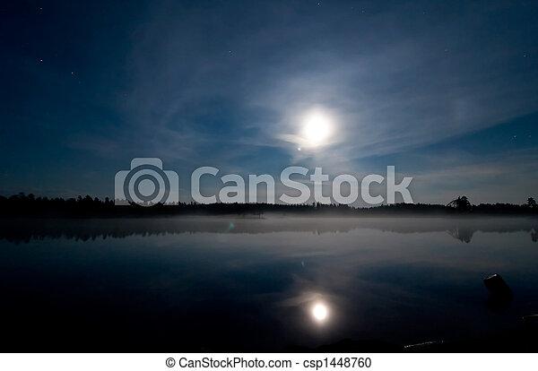 Night Lake - csp1448760