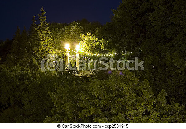 Night park - csp2581915