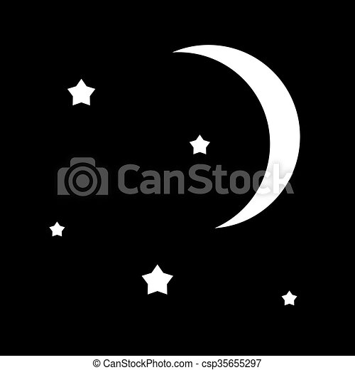night sky - csp35655297