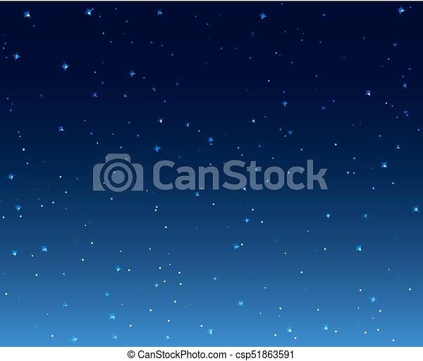 Night Stars Sky Background Illustration Galaxy Dark Night Starry Sky Wallpaper Canstock