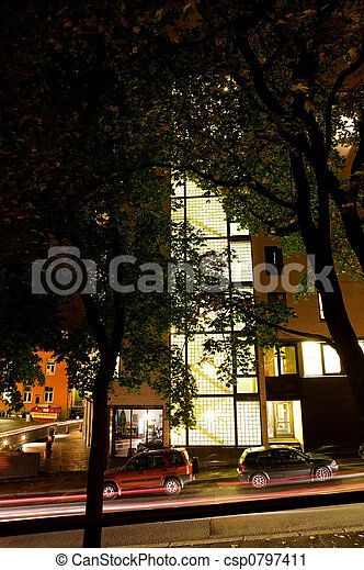 Night Street - csp0797411