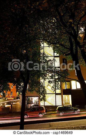 Night Street - csp1469649