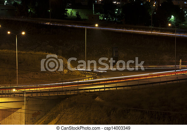 night traffic - csp14003349