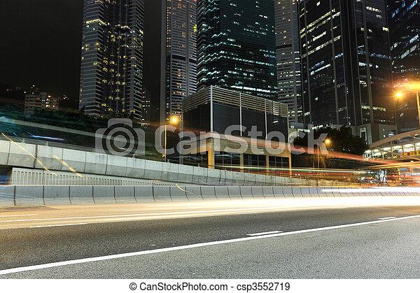 night traffic - csp3552719