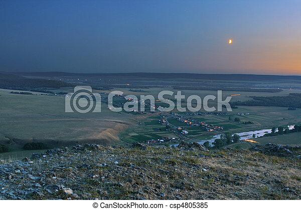 night village - csp4805385