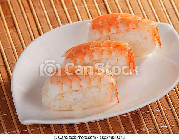Nigiri Sushi - csp24930073